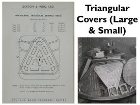 Triangular Covers (Large & Small)