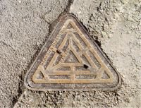 Triangular Large, Rounded Corners Triangle Pattern TIVERTON The Castle