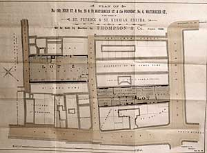 Plan of the foundry and shop - 1888