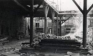 Demolition of the foundry